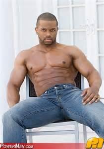 bodybuilding black hunk males picture 7