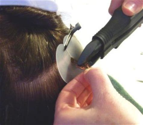 keratin applied hair extensions picture 6