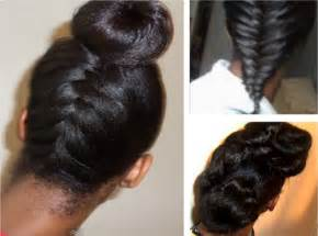 protective hairstyles for relaxed hair after exercise picture 1