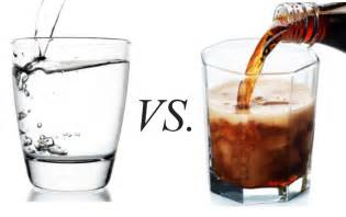 diet coke vs water picture 1