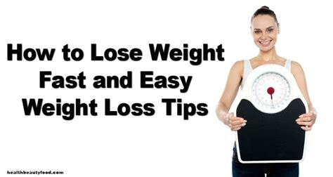 101 weight loss - tips for quick, easy, picture 6