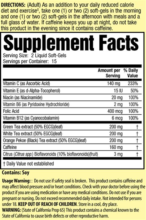 fat burning injection ingredients picture 11