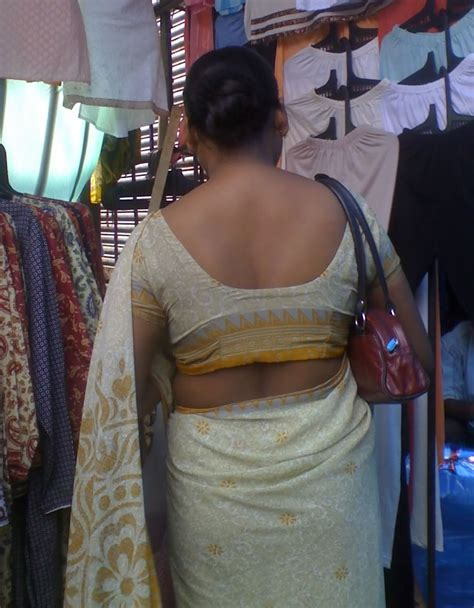 aunty in sarees back view with big gaand picture 7