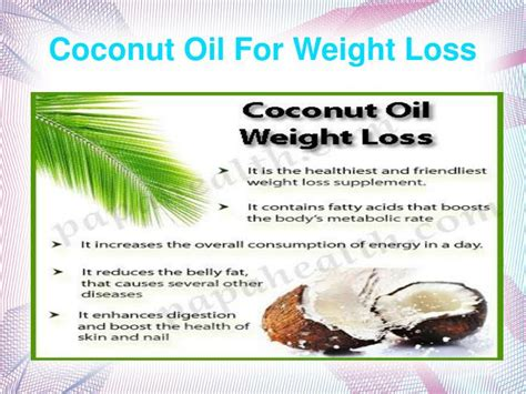 weight loss and cocoanut oil picture 2