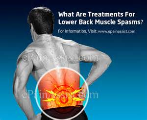 causes of lower back muscle spasms picture 1