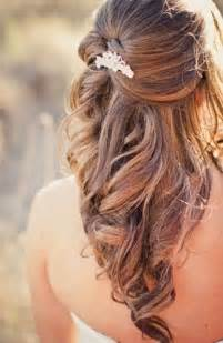 wedding hair half up half down formal picture 11