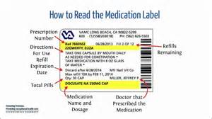 how to read prescription bottles picture 1