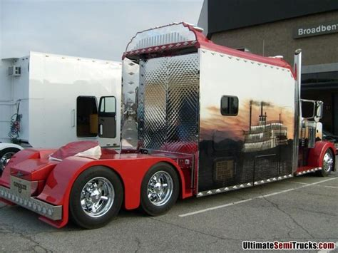 extended semi tractor sleeper cabs picture 5