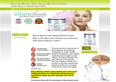 where to buy allure anti aging cream and picture 3