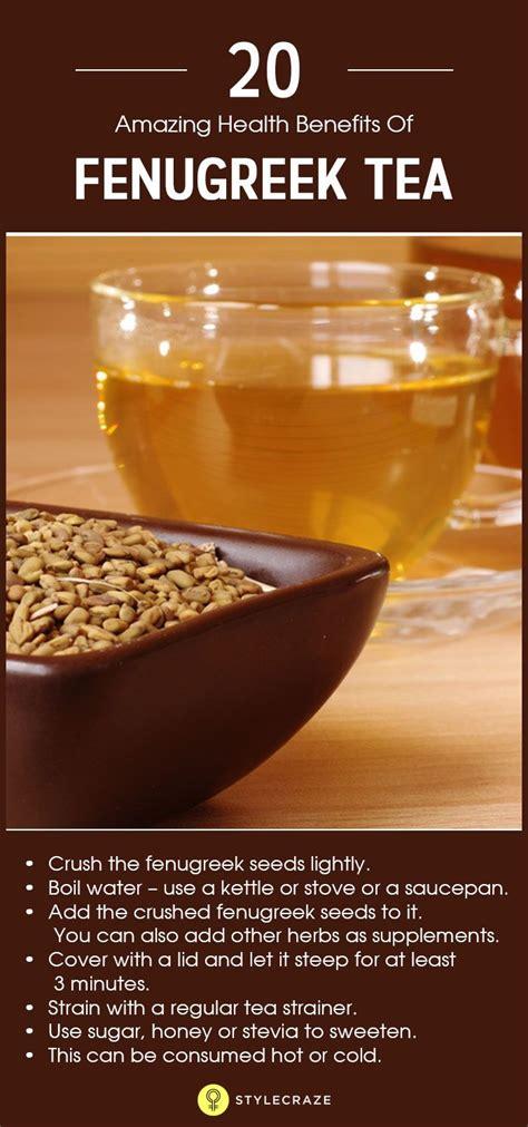 uses of fenugreek tea picture 9