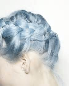 blue dye for gray hair picture 14