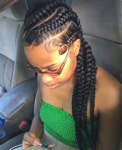 pictures of feed-in cornrow hairstyles picture 10