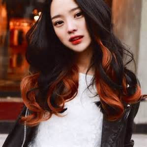 asian hair color picture 2