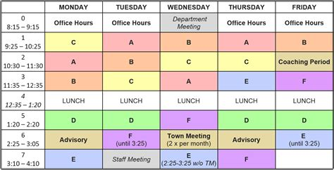 schedule picture 2