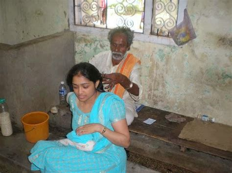 south indians girls womens forced head shave in picture 19