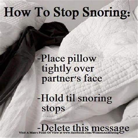 can not sleep with snoring husband picture 3