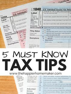 tax tips business in home picture 2