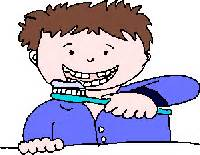 brushing teeth clipart picture 10