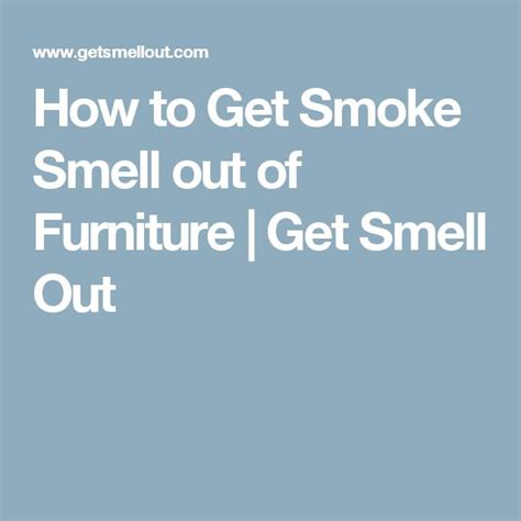 how to get cigarette smoke smell out of picture 2