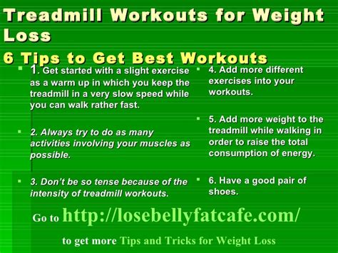 treadmill workouts for weight loss picture 2