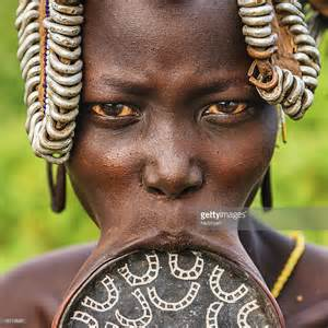 african tribe who use discs in their lips picture 15