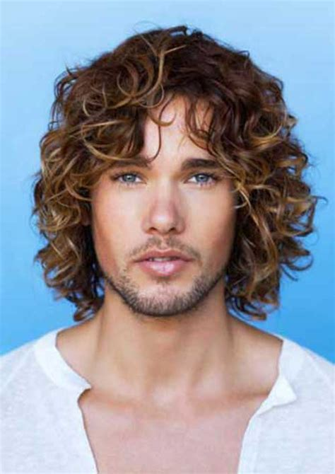 man with blonde curly hair picture 11