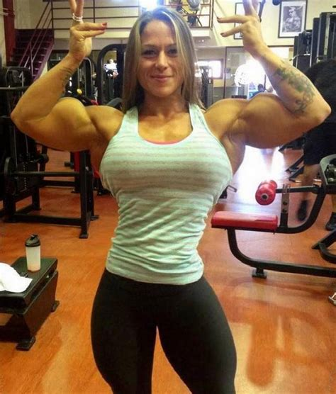 big muscle women picture 1