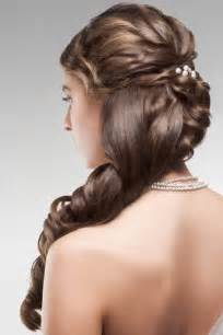 wedding hair half up half down formal picture 9
