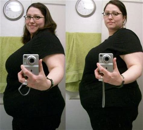 female feedee before and after picture 10