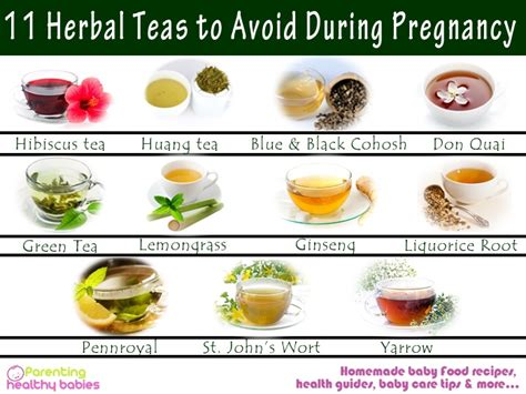 drinking herbal tea while pregnant picture 3