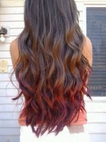 can dyed red hair go to brunette picture 1