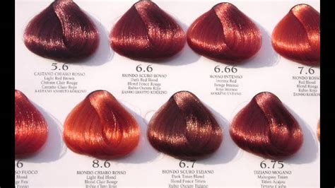 color chart for red hair dye picture 9