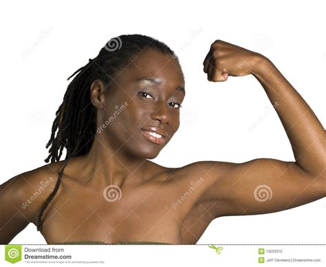 black female muscle 2 picture 3