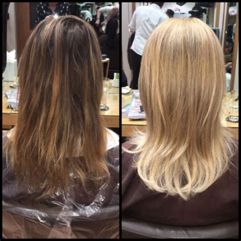 before an after pics after using olaplex picture 3