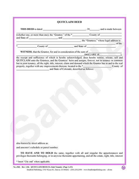 quit deed with joint tenancy georgia picture 14