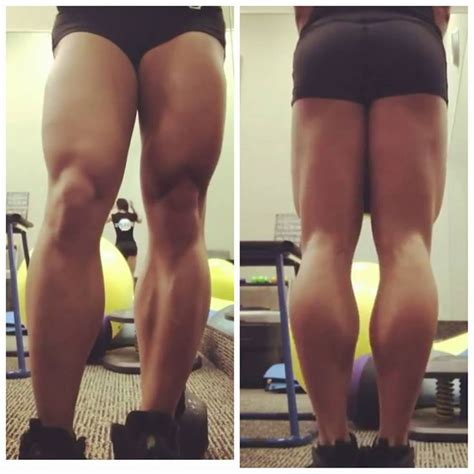 calves legs muscle female picture 19