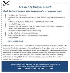 sleep center evaluation questionnaire picture 2