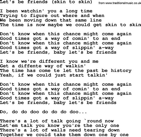 country song lyrics with skin to skin picture 1