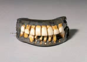 george washington's false teeth picture 1