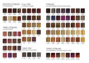 hair coloring chart picture 18