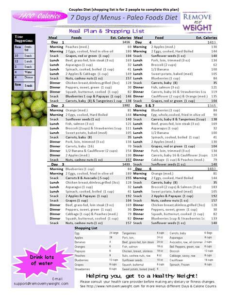 1400 calorie sample diet plans picture 15