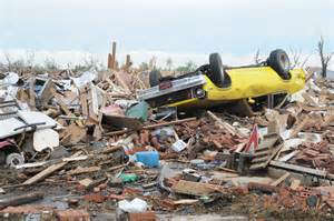 debris from a tornado picture 1