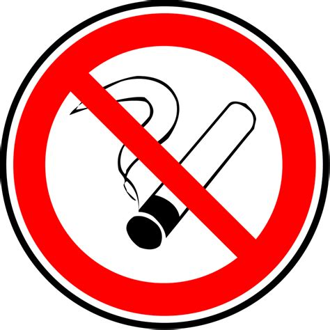 don't smoke clip art picture 10