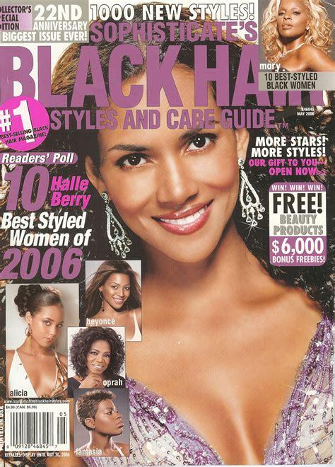 black hair salon hair style magazines picture 5