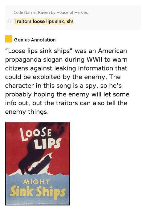 loose lips sink ships lyrics picture 7