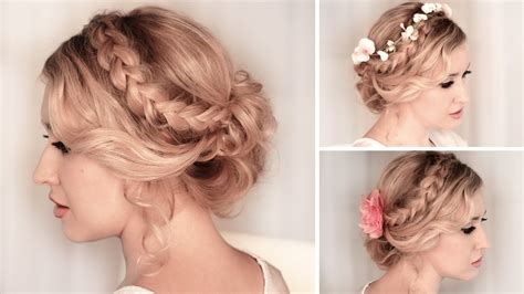 Home made prom hair picture 7
