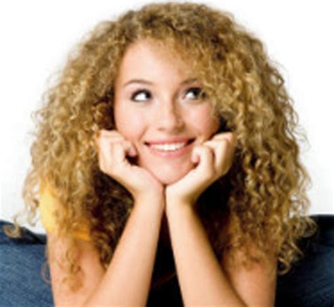 curly hair blonde picture 17