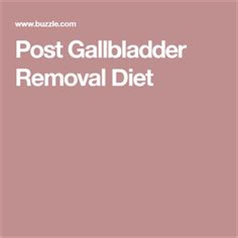 diet post gall bladder removal picture 3