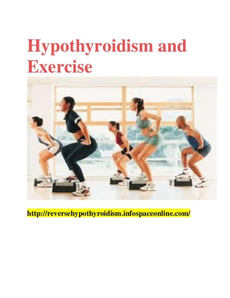 hypothyroidism and exercise picture 1