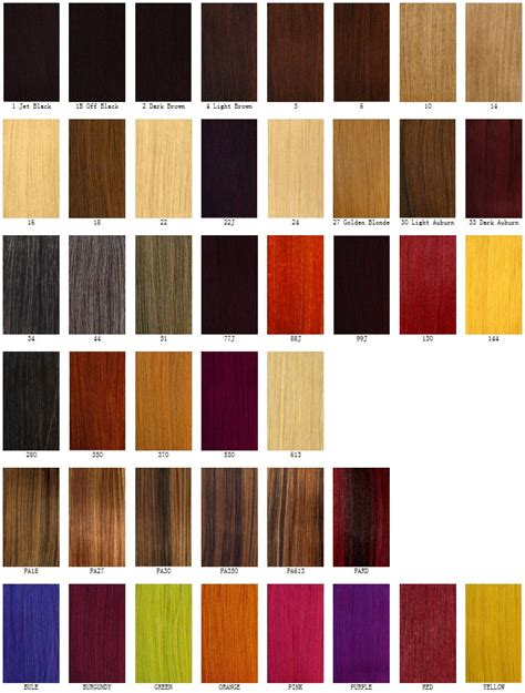 colors for hair picture 14